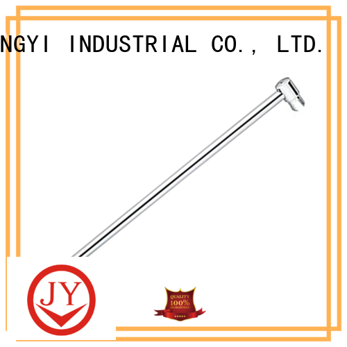 JY square shower curtain rod factory for Glass products