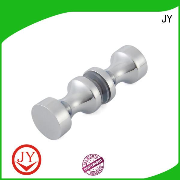 JY solid construction shower screen door knobs Supply for Glass Door