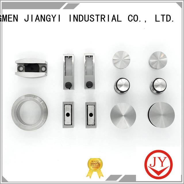 JY frameless glass sliding door hardware the company for Glass product