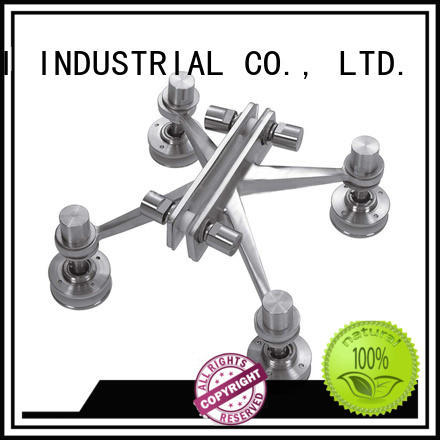 Four Arms Point Mounted Curtain Wall Spider Fitting FK200-4
