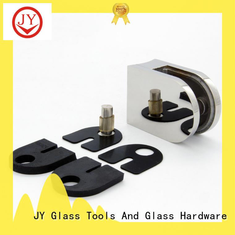 solid construction corner glass bracket Suppliers for bathroom