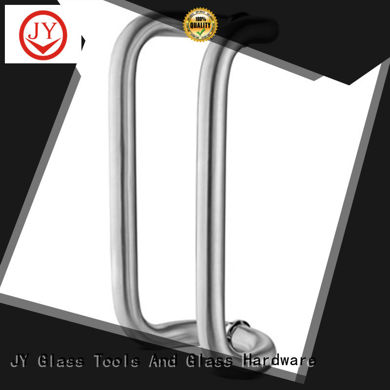 JY Customized glass door handle price manufacturer for gates